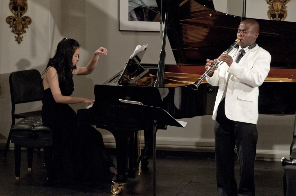 Gloria Chien with Anthony McGill (Music@Menlo)